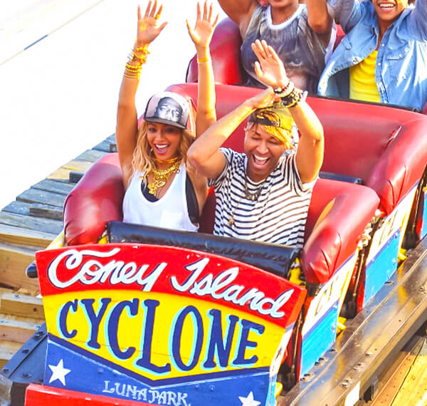 Cyclone Luna Park