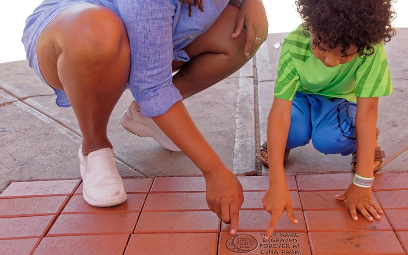 Commemorative Bricks Luna Park